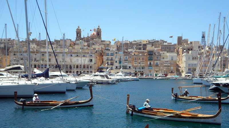 destinos para aprender idiomas Malta