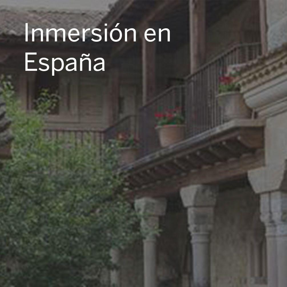Inmersión en España