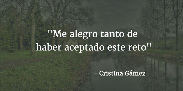 opiniones ASTEX - testimonio Cristina Gamez