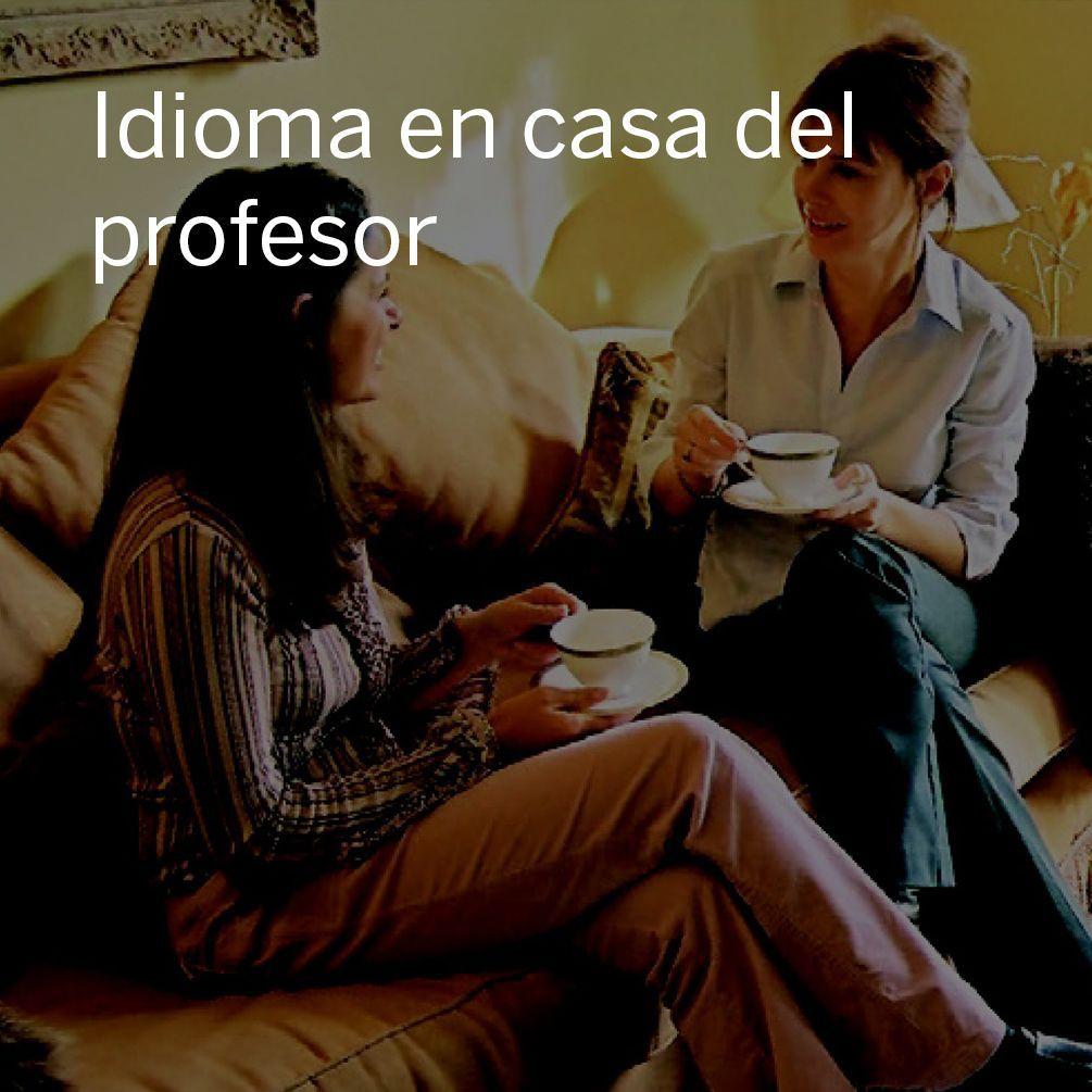 Idioma en casa del profesor