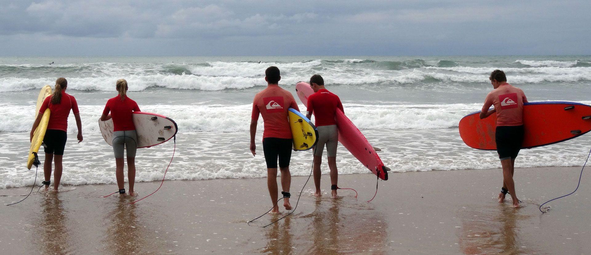 Biarritz surf Francia curso de frances ASTEX 1