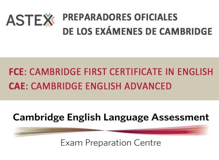 ASTEX preparadores oficiales exámenes de Cambridge