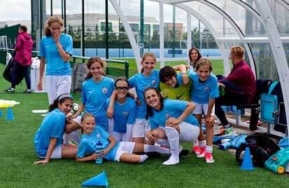 Fútbol con el Manchester City ASTEX