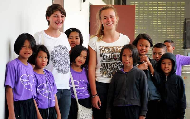 Voluntariado en Tailandia ASTEX