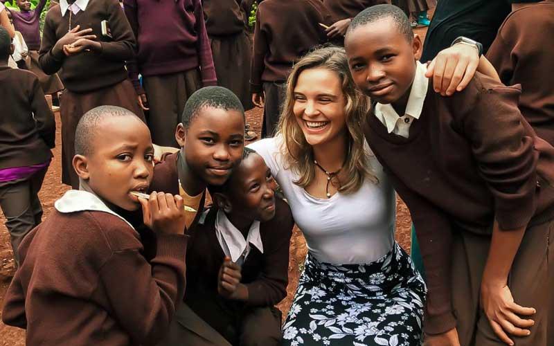 Voluntariado en Tanzania - convivencia con americanos ASTEX