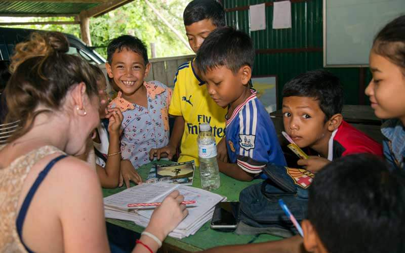 voluntariado en Camboya ASTEX