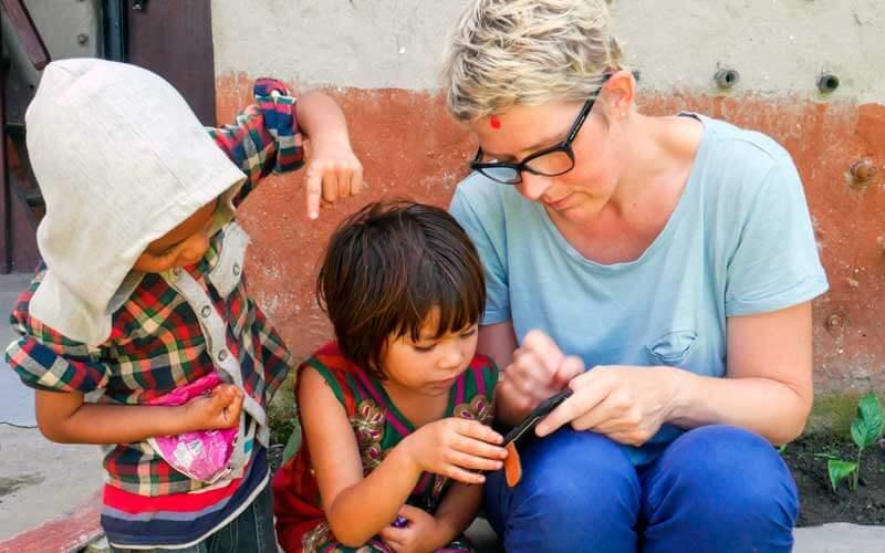 voluntariado internacional en Nepal ASTEX