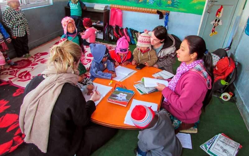 Voluntariado en Nepal ASTEX