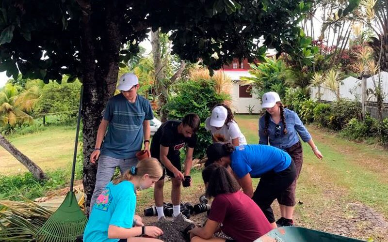 voluntariado en Guadalupe convivencia con americanos ASTEX