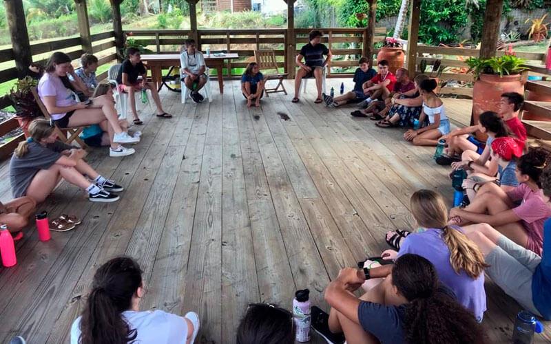programa de voluntariado en el caribe francés Guadalupe ASTEX
