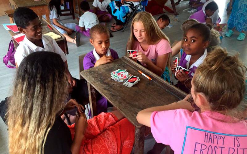 voluntariado Fiyi para jóvenes con americanos ASTEX