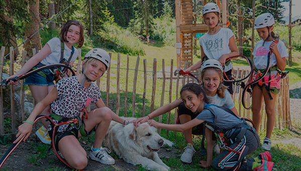 Les Elfes campamento de verano en Suiza