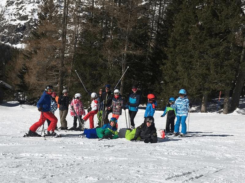 Programa de inglés y esquí en Verbier