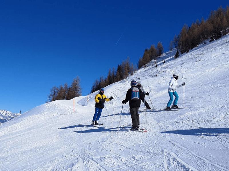 Curso de alemán y esquí en Liddes
