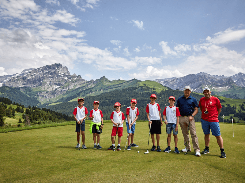 programa de frances e ingles en los alpes suizos